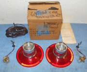 1964 Ford Custom Galaxie 500 Xl Victoria Convertible Nos Back-up Lamp Light Kit