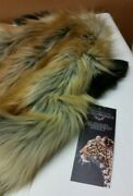Spirithood Red Fox 2.0 New With Tags Nwt Black And Orange Foxy