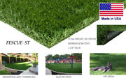 Fescue St Synthetic Landscape Fake Grass Artificial Residential Turf Pet Lawn