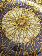 """500 Versace Service Plate Medusa Floralia Discontinued 12"""" New Collectible"""
