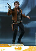 Hot Toys 16 Mms492 Han Solo Star Wars Deluxe Version Collectible Action Figure