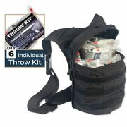 Mci Rapid Response Throw Kits W/ 6 Packs By North American Rescue