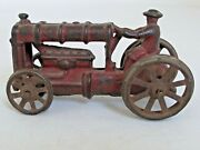 Antique Fordson Cast Iron Farm Tractor Toy 4 3/4