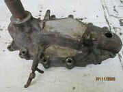 1922-23 Cadillac Type 61 Front Engine Cover With Crank Extension And Air Pump.