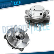 Front Wheel Bearing And Hub Assembly For Infiniti Ex35 Fx35 G35 G37 M45 Q50 Rwd