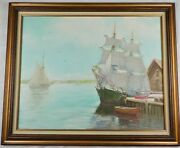 Original Impressionist Oil Painting The Wanderer By Silva Fernandes Listed