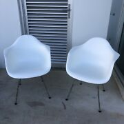 Charles And Ray Eames - X2 Dax Chairs For Vitra - Made In Germany