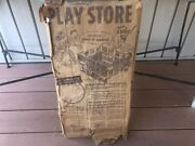 Never Opened 1950and039s Cardboard Life Like Play Store Game Hey Kids Come A-running