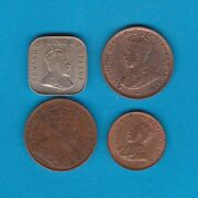 Four Ceylon Coins 1904/1909/1922 And 1926 In Extremely Fine To Mint Condition