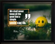 Mother Teresa We Shall Never Poster Print Picture Or Framed Wall Art