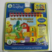 Leap Frog My First Leap Pad Tad's Silly Number Farm Book Cartridge Preschool New