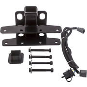 2 Inch Towing Black Rear Trailer Receiver Hitch Fit Jeep Wrangler Jk 07-18
