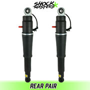 Rear Pair Air Ride Suspension Shock Absorbers For 2015-2019 Cadillac Escalade