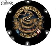 2004-2021 Harley Davidson Sportster 883 1200 Derby Clutch Cover Dont Tread On Me