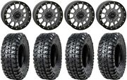 System 3 Sb-5 Grey 15 Wheels 32 Chicane Rx Tires Can-am Renegade Outlander