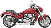 Bassani Manufacturing - Sm9-3to - Pro Street Turn Out Exhaust System Chrome