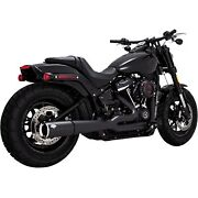 Vance And Hines - 47587 - Pro Pipe Harley-davidson Softail Deluxe Fldesoftail Fat