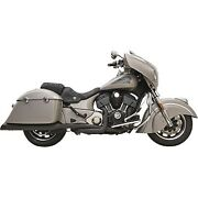 Bassani Manufacturing - 8c16bsb - True Dual Performance Exhaust Indian Chieftain