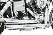 Independence Shorty Full Exhaust System Chrome Harley Davidson Dyna Fxd And03906-14