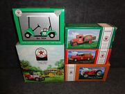 Complete Texaco Country Club Series Set / 1918 Ford / Tractor / Golf Cart / Ect