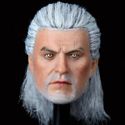 War Story Ws005 1/6 White Wolf The Devil Hunter Collectible Figure Head Sculpt