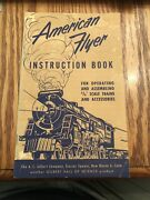 American Flyer 1952 Instruction Book For 3/16 Scale Trains And Accessories