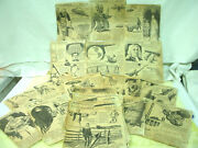 Vintage 1930and039s-r.j.scott--scottand039s Scrapbook Newspaper Clippings-[45] Delicate