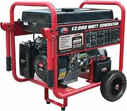 All Power 12000-w Portable Gas Powered Generator With Electric Start Home Rv