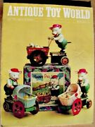 Antique Toy World Magazine July 1998 Steam Engines Snake And Frog Bank Woodie Cars