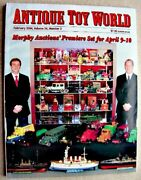 Antique Toy World Magazine February 2004 Boats, Church Bank, Master Caster Cars