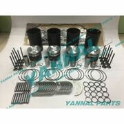 New 4m50 4m50t Overhaul Kit With Valves For Mitsubishi Engine