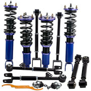 Suspension Kit Spring Coilover And Control Arm Ball Joints For Honda Accord 08-12