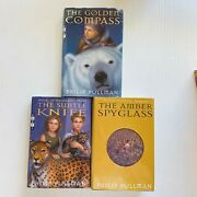 His Dark Materials Trilogy By Philip Pullman Hardcovers In Dust Jacket 1st/1st