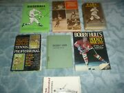 Lot Of Old Vintage Sports Books , No Stains/ Odors, Very Good