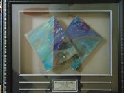 Pandeacuterez Celis Maquette For Multiple Planes Painting In 1986 Mounted In Shadowbox