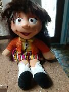 Vintage The Puzzle Place My Friend Kiki Doll 14 Plush Fisher Price 1994 - Used