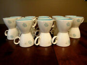 Vtg 1950and039s Taylor Smith And Taylor Boutonniere Ever Yours China- 25 Cups -nice