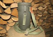 Original-authentic Ww2 Relic German Gas Mask Box-canister + Mask Residues 15