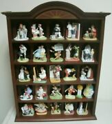 Norman Rockwell The Danbury Mint Figurines 25 Pieces The Curtis Publishing Co