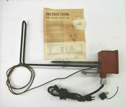 Vintage 1960 Crouse Hinds Electric Stock Tank Heater 8s-100g Pond Antique 61e