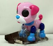 Zoomer Zupps Tiny Pups Pink Star Dog Toy
