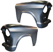 55-56 Chevy Pickup Truck Front Lh And Rh Side Fenders Pair Restoration Grade