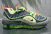 Nike Air Max 98 Halloween Youth Gs Gridiron Black Ct1171-001 Size 4y