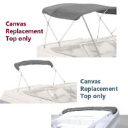 Pontoon Bimini Top Replacement Canvas Cover Zippered Pockets Stern Light Cutout