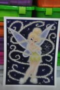 Large Tinkerbell And Pixie Dust Photo Signed By Original Tinkerbell Margaret Kerry