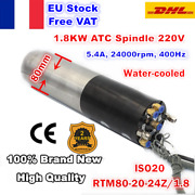 【fra】atc Spindle 1.8kw 220v Iso20 Automatic Tool Change Water Motor Mill Machine