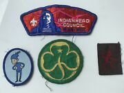 Rare Scouts Badges Indianhead Minnisota Wisconsin Brownies Girl Guiding Badge