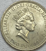 1689 - 1989 Tercentenary Of The Bill Of Rights Old Andpound2 Two Pound Coin