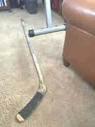 Jim Johannson Usa Olympic Team 1992 Signed Canadien 6001 Game Used Stick