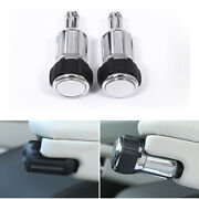 Pair Sv Armrest Rotary Knob Head Cover Parts Fit For Range Rover Sport 2014-2018